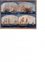 Combat 15 nivose an 6 fregate le cheri commande par jean simon chassin et un navire anglai s090